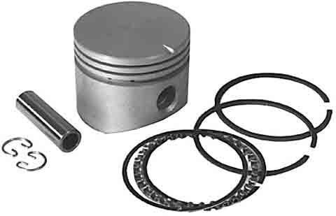 Replacement Piston & Ring Set Assembly For Briggs & Stratton # 391674, 499908, 299566