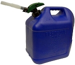 Fuel Can Biltz # 5 + Enviro Flo Plus Kerosene Can # 81077B