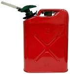 Fuel Can Biltz # 5 + Enviro Flo Plus Metal Jerry Can # 81733B