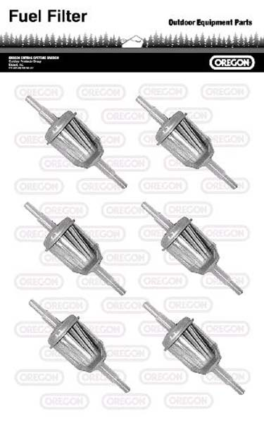 In - Line Fuel Filter 6 Pack For Onan # 149-2206-01