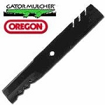 Gator G6 Mulcher Lawn Mower Blade For Exmark # 109-6465 For Triton Deck, 15/16 Center Hole, .250 Thickness