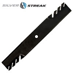 Silver StreakTooth Mulcher Lawn Mower Blade For Wright Stander # 71440003 1520842