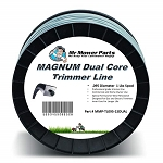 Mr Mower Parts Heavy-Duty Magnum Dual Core Square Trimmer Line .095 3LB Spool