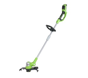 "Greenworks 21222  12"" 24-Volt-2.0Ah Lithium-Ion Cordless String Trimmer Edger"