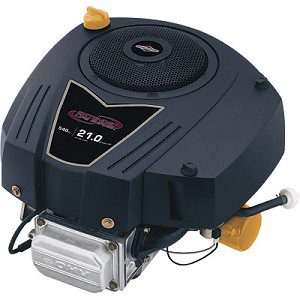 Briggs & Stratton Intek Vertical OHV Engine with Electric Start — 19 HP, 1in. x 3 5/32in. Shaft, Model# 331877-3036-G5 / 331977-0001-G1