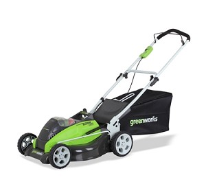 "GreenWorks 25292 40Volt 19"" 3-in1 Push Mower"