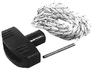 "Starter Rope and Handle For  # # 4 1/2 Rope 42"" Long with Handle Blister Carded"