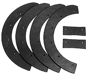Snow blower Paddle Set For Snapper CS3201 3201 # 60631