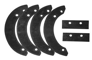 Snow blower Paddle Set For Honda # 06720-v10-030