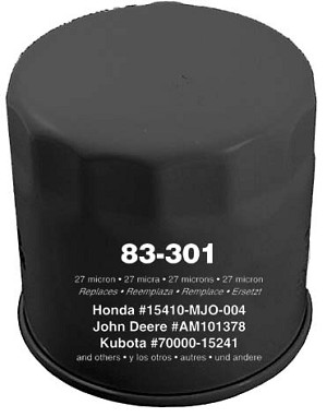Replacement Oil Filter For Kubota # 700000-15241