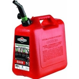 Briggs & Stratton Gas Can # 85053 5 Gallon