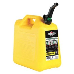 Briggs & Stratton Diesel Fuel Can # 85056 5 Gallon