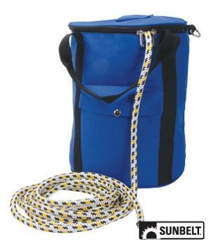 "Diamond Back 16 strand Climbing Rope By Pelican with Rope Bag 1/2"" x 150'"