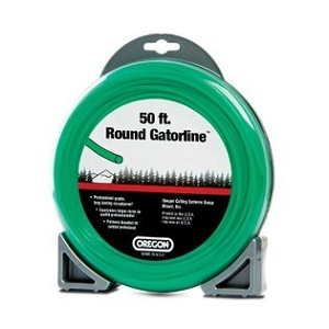 "Oregon Green Gator Line Round Trimmer line .105"" Gauge Dounut Package Footage 50'"