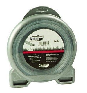 "Oregon Magnum Gatorline Square Trimmer line .170"" Gauge 1/2 Lbs Donut Package Footage 36'"