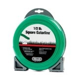 "Oregon Green Gator Line Square Trimmer line .080"" Gauge 1/2 Lbs Donut Package Footage 163'"