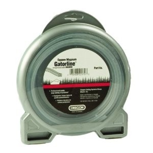 "Oregon Magnum Gatorline Square Trimmer line .130"" Gauge Dounut Package Footage 50'"