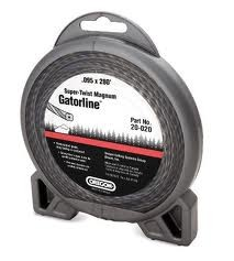 "Oregon Super Twist Magnum Gatorline Round Trimmer line .118"" Gauge Donut Package Footage 50'"