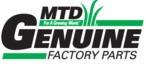 MTD Genuine Part # 777D15495 LABEL-MOWER SHROUD K