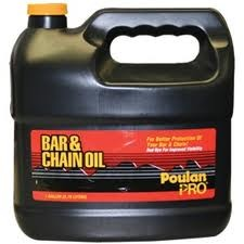 Poulan barn and Chain oil Gallon Jug # 952030204