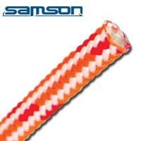 "Velocity Hot Climbing Line by Samson, 11mm (7/16"" ) x 150' W/Spliced eye"