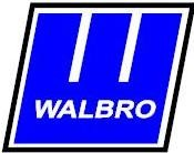 Walbro Carburetor  Part # WJ-31-1 Carburetor