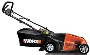 "Worx ECO WG718 (19"") 13-Amp Electric 3-in-1 Push Lawn Mower"