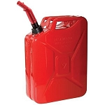 Briggs & Stratton Gas Can # 85043 5 Gallon Metal