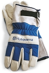 Husqvarna Heavy Duty Leather Work Gloves # 531030767
